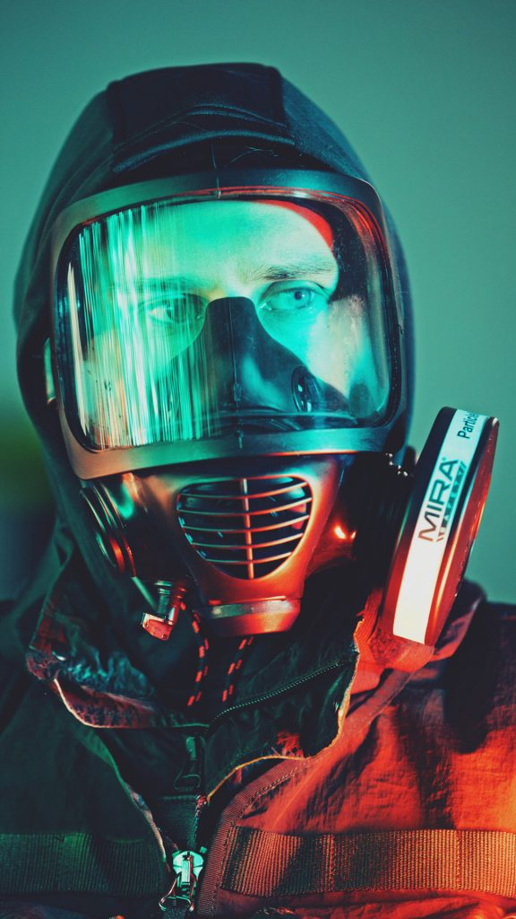 Maschera antigas e filtri - Mira Safety CM 6M