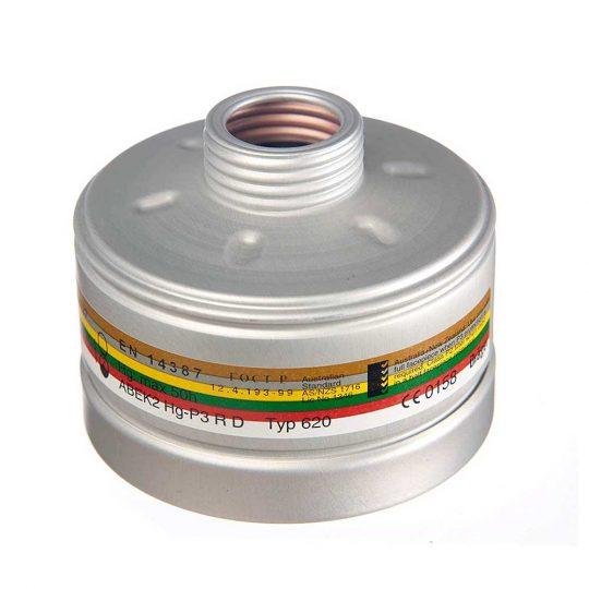 Filtro antiparticolato Dräger ABEK2 Hg P3 R
